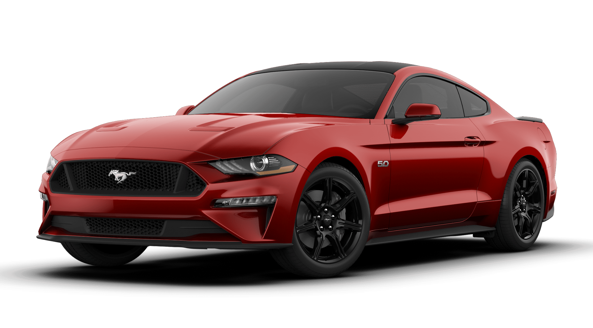2019 Ford Mustang GT Premium Ruby Red Metallic Tinted Clearcoat